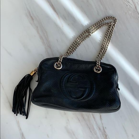 Gucci Handbags - 100% Authentic Gucci Soho Chain Zip Shoulder Bag